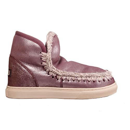 Mou Mini Eskimo Sneaker Donna, Pelle Liscia, Stivaletti, 36 EU