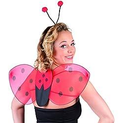 Ladybug kit for adult (accesorio de disfraz)