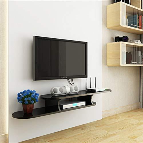 Mobile TV a Parete Mensola Galleggiante Soggiorno Camera da Letto Mensola a Muro Libreria Console...