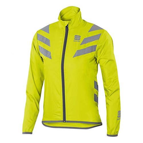 SPORTFUL-Reflex Jacket Junior, Colore: Giallo, Argento, Taglia 12Y