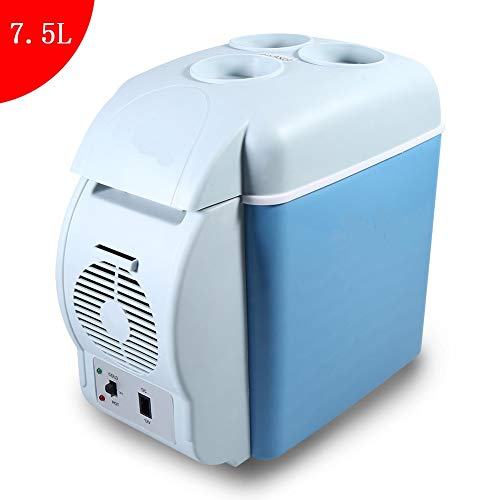 Generic 1 Pc 7.5L Car Fridge Camping Refrigerator Portable Mini Car Fridge Freezer Cooler Warmer 12V Camping Travel Refrigerator