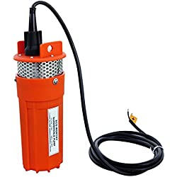 ECO-WORTHY - Bomba de agua para pozo (12 V, 30 m sumersión máxima)