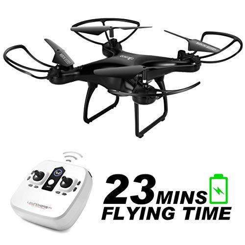 allcaca RC Drone Telecomandato per Bambini 23 Minuti di Volo, modalità Senza Testa, Vibrazione 3D,...