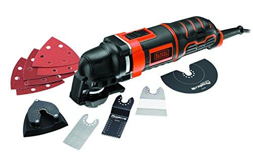 BLACK+DECKER MT300KA-QS Utensile Multifunzione, 300 W, Nero/Arancione