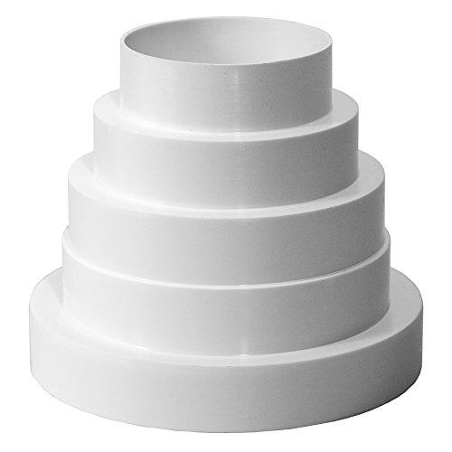 Riduttore universale per sistemi di ventilazione, diametro 80-150 mm.Riduttore con tubo di diametro...