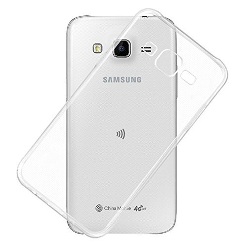 Exclusive Soft Silicone TPU Jelly Transparent Crystal Clear Case Soft Back Case Cover For Samsung Galaxy J7 J700F