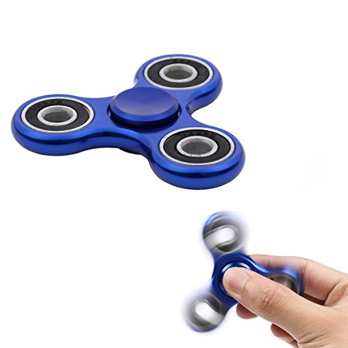 TUMI Fidget Hand Spinner METAL - Bestes Spielzeug Zur Stressreduktion