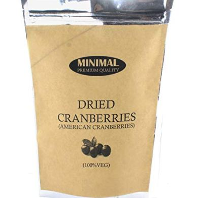 Minimal Dried Cranberries, 1kg 4
