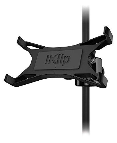 IK Multimedia iKlip Xpand - Supporto regolabile in termoplastica, per tablet fino a 30,7 cm (12,1'')