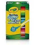 Crayola 50 CT. SUPER TIPS Multi 50pièce(s) - Marqueurs à peinture (Multi, Vert, Jaune, 50 couleurs, Garçon/Fille, 50 pièce(s), Boîte)