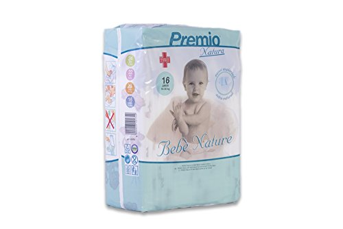 Pannolini Bebè Nature Junior taglia 18/30 killogramm cartone 96 pannolini