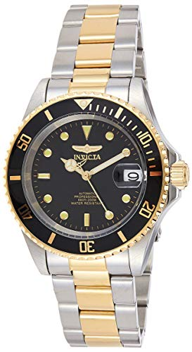 Invicta Pro Diver Unisex Wrist Watch Stainless Steel Automatic Black Dial - 8927OB