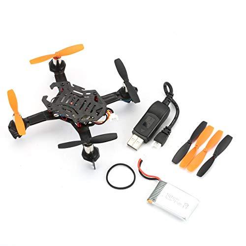 HONGIRT UAV Radiolink F110S Micro Vettura da Corsa Drone Mini Quadcopter con R8FM in Fibra di...