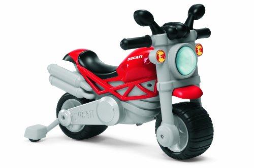 Chicco 71561 Moto Ducati Monster, Cavalcabile 2 in 1