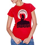 T-Shirt Sabrina Terrificanti Avventure Strega Witch Salem - Film Choose ur Color - Donna-M-Rossa