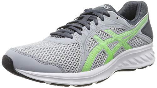 Asics Jolt 2, Zapatillas de Running para Hombre, Gris (Piedmont Grey/Green Gecko 023), 44 EU