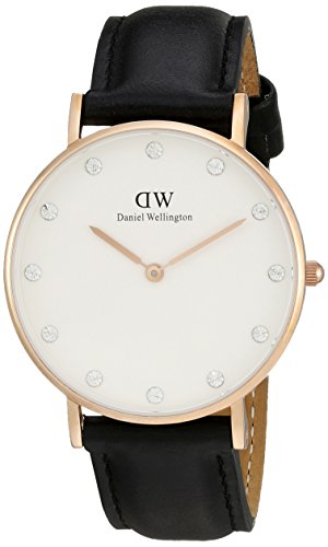 Daniel Wellington Classy Sheffield 0951DW  - Orologio da donna al quarzo, Cinturino in Pelle, 34 mm