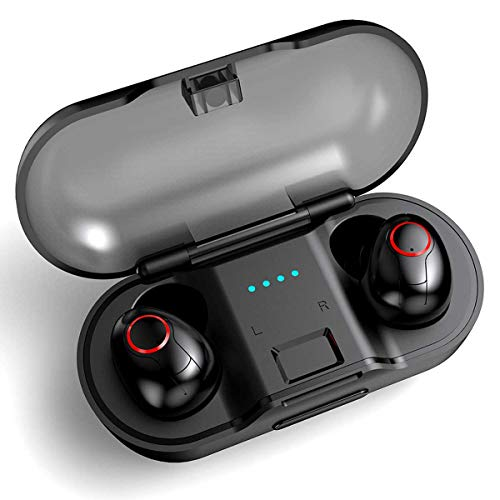 Auricolari Wireless Cuffie,FODLON TWS Bluetooth 5.0 Stereo Auricolari Bluetooth Fili in Ear con...