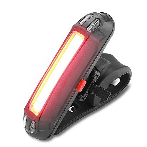 WOTUMEO Luce Posteriore Bicicletta USB Ricaricabile Impermeabile Luce Di Bicicletta Del LED Facile...