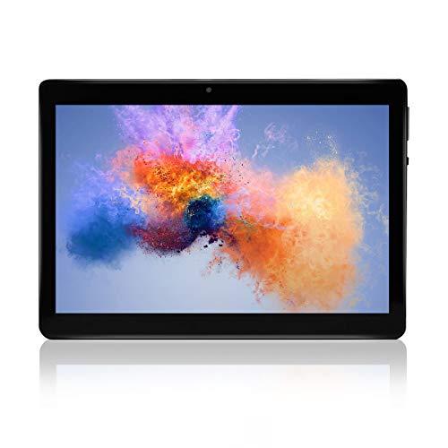 """Android Tablet 10 \""""Quad-Core-Prozessor 2 GB RAM und 32 GB Tablet PC WiFi-Speicher GPS-Kamera und Zwei Kartensteckplätze (Schwarz)"""