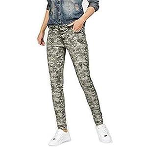 Blue Monkey Jeans Alexis Skinny Khaki Camouflage 28-32