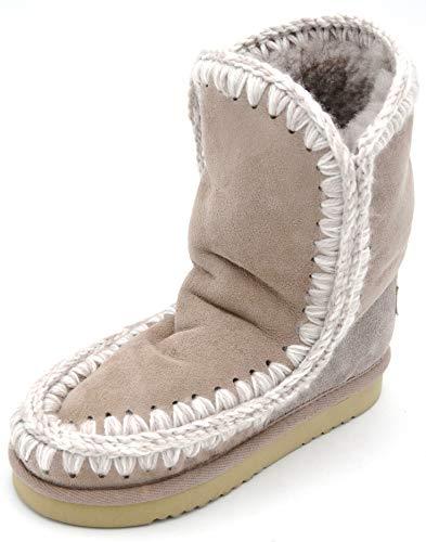 Mou Bambina Stivale alla Caviglia Invernale CAMOSCIO Art. Eskimo Boot Kid 22-35 34 Grigio Talpa Grey