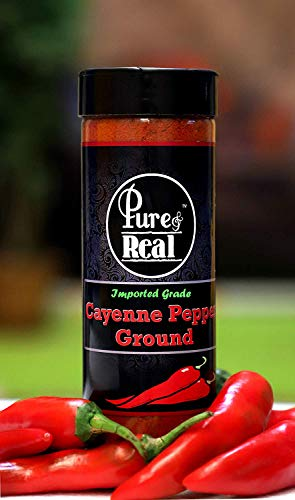 Pure & Real Ground Cayenne Pepper 55 Gram (Imported Grade Spicy Chilli Powder)