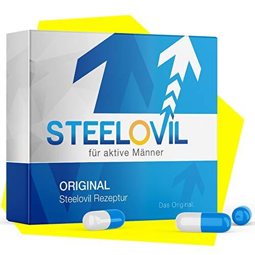 **NEU** Original STEELOVIL® - Für MÄNNER - 12 Hochdosierte Kapseln 200mg | Neutrale Verpackung | Jetzt mit der revolutionären Hard-Shaft-Formel