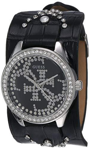 Guess Femme Uhr Analogique QUARTZ mit Cuir Armband W1140L1