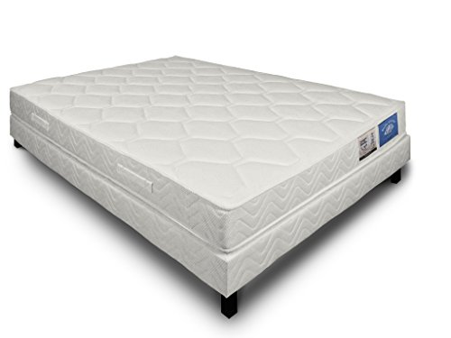 Je veux un lit Ensemble Matelas 486 Ressorts ensachés HIGO + sommier 140 x 190 cm 22