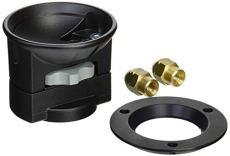 Manfrotto 325N - Adaptador de Bola para rótula de vídeo 75/100 mm
