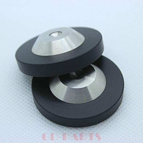 GD-Parts 4pcs 39 * 11mm Isolation HiFi Spike feet mat Base pad for Speaker Cabinet Turntable CD Player DAC Radio