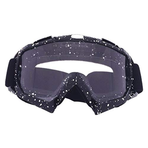 DFGDH Goggle Maschera da Sci Unisex Maschera da Snowboard Winter Snowmobile Motocross Occhiali da...
