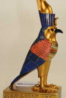 Egipto: réplica Horus borní de pájaro
