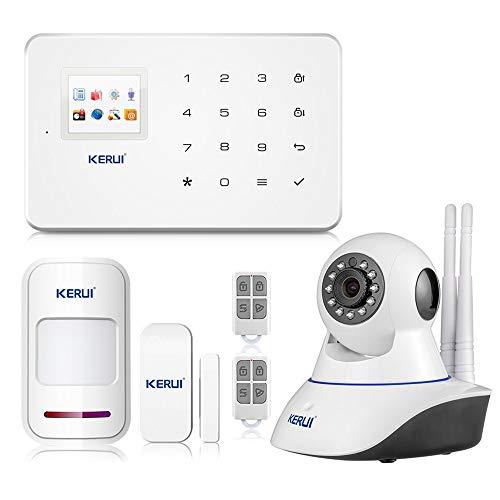 KERUI G18 Android APP iOS Contrôle sans Fil Système de Sécurité GSM...