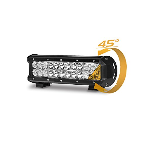 Eyourlife 12' 72W CREE LED Faro da Lavoro Luce Barra LED Auto Fari LED Auto Luci LED Auto Fari LED...