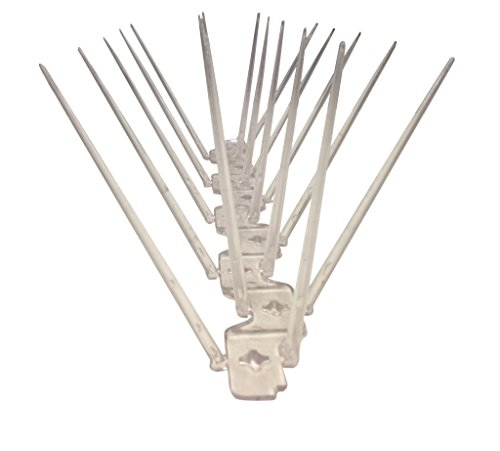 K Polycarbonate Bird Spike Kit (consists of 6 spikes)