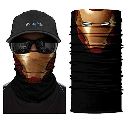 ShopINess Scaldacollo Multifunzione - Ironman