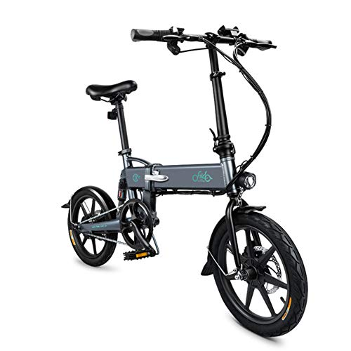 Heroger 1 Pcs Electric Folding Bike Foldable Bicycle Adjustable Height Portable for Cycling