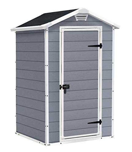 The 4 x 3 ft. unit is a zero-maintenance unit that does not fade or rot.