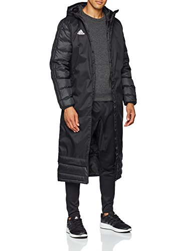 adidas Winter Coat 18, Giacca Sportiva Uomo, Black/White, M