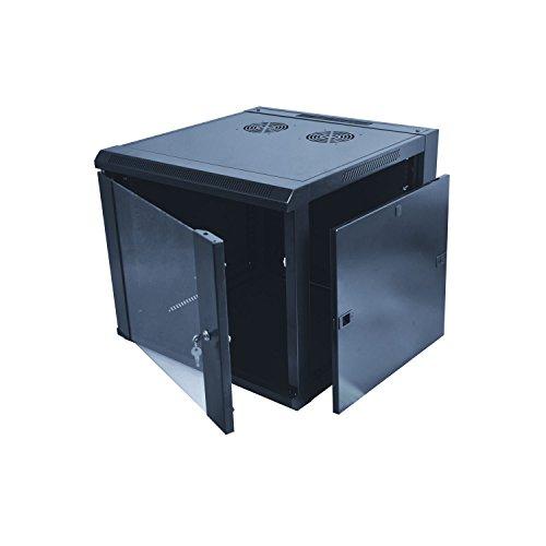KIMEX 111-6406 Armadio rack 19' da muro, 6 unità, Profondità 450 mm