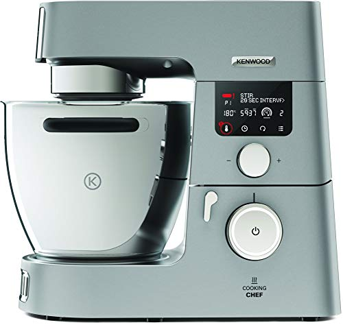 Kenwood KCC9060S Cooking Chef Gourmet, 1500 W, Argento