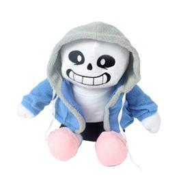 AimdonR Peluche Undertale Sans Plush Stuffed Doll Undertale Game Peripheral Sans Bambola di Peluche