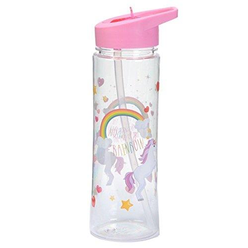 Puckator Enchanted Rainbow Botella Unicornios, Rosa