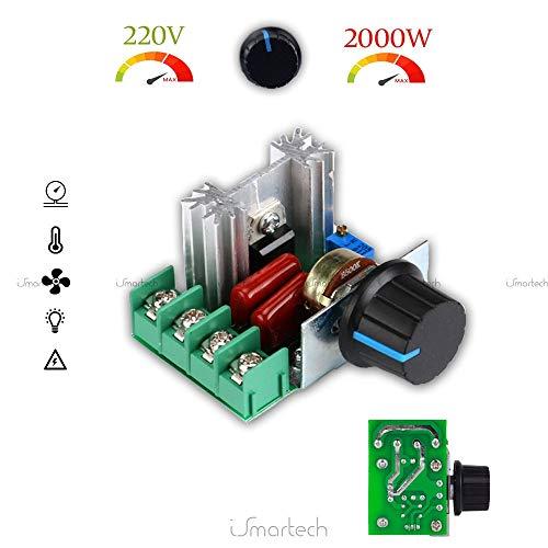 Descrizione: Questo controller utilizza un nuovo SCR ad alta potenza bi-direzionale. Può essere molto comodo regolare la corrente fino a 25A e risolvere il problema di sovracorrente della resistenza del filo di riscaldamento è troppo piccolo ...