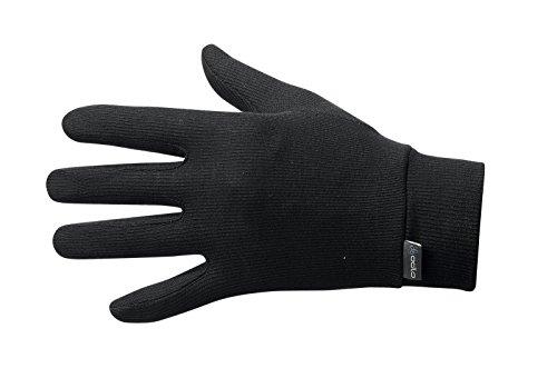 Odlo Warm - Guantes Negro Negro Talla:Small