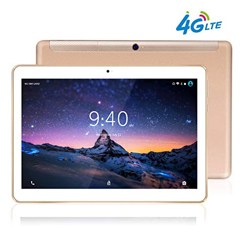 Tablet 10 Pollici 4G LTE BEISTA-Android 9.0 tablets,Otto core,Frequenza della CPU 2.0 GHZ,4G...