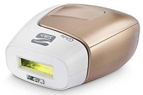 Silk'n Glide Rapid 400.000 Luz pulsada - Tecnología HPL - Depilación permanente clínicamente probada del rostro y el cuerpo con sensor inteligente de color de piel