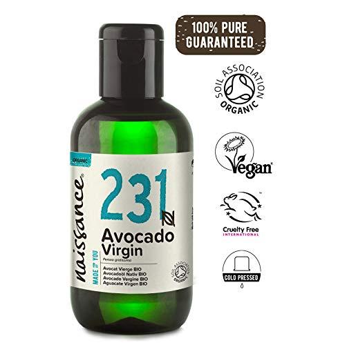Naissance Huile Végétale d'Avocat Vierge Certifiée BIO (n° 231) - 100ml - 100% pure et naturelle